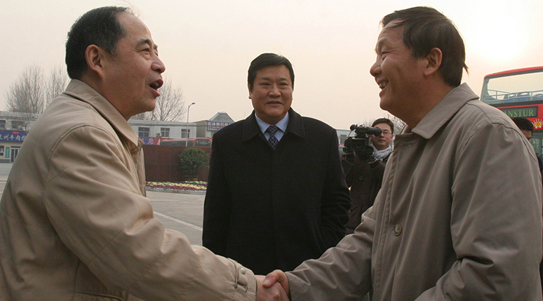 河南省纪委书记尹晋华视察宇通