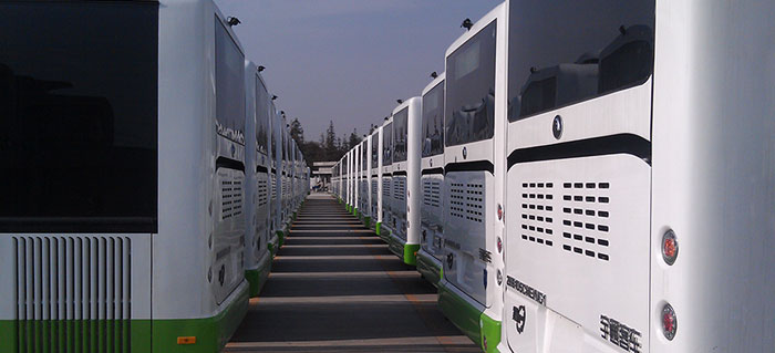 公司日产能突破340台,新能源产能突破160台