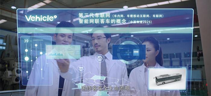 持续发展应用智能网联技术