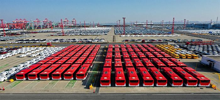 纯电动客车批量交付海外高端市场。