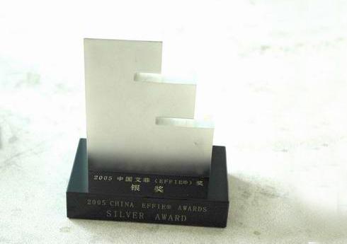 2005年中國艾菲獎銀獎