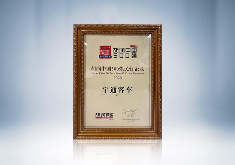 胡润中国500强民营企业