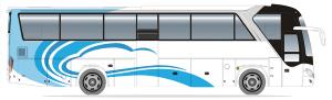 ZK6122HQ(旅游B造型国五柴油合装客运版)