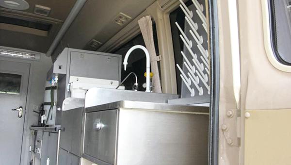 ZK5061XJC1水质检测车