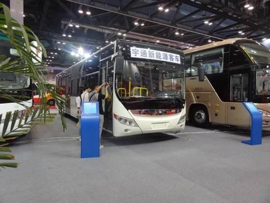 创新引领行业未来,宇通新能源客车崭新亮相