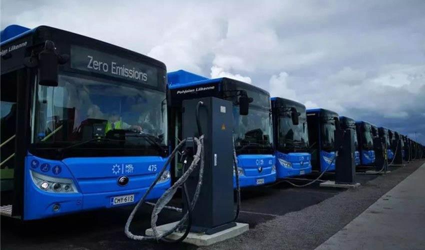 """33辆宇通纯电动大巴首次进入芬兰!带去了哪些""""惊喜""""?"""