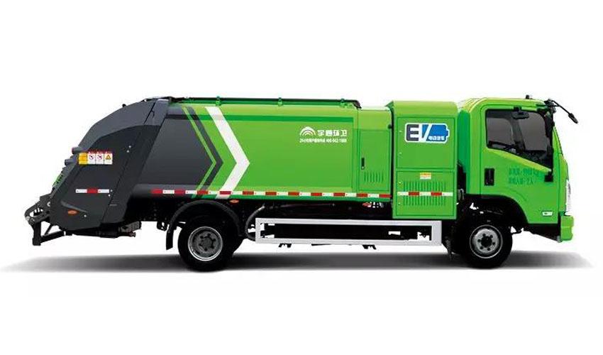 高效之星 | 实名表扬宇通环卫纯电动压缩式垃圾车!