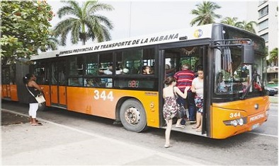 中国客车助力古巴城市交通优化升级