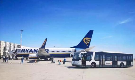 中国制造   首批宇通纯电动机场摆渡车驶入摩洛哥