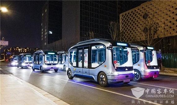 新年首日正式开跑!宇通自动驾驶巴士批量投入运营