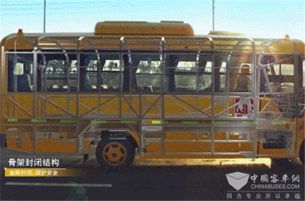 宇通三代校车ZK6115DX,凭什么成为校车安全智能新标杆?