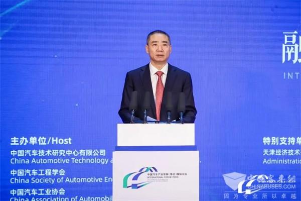 辛国斌:启动公共领域全面电动化试点,将编制汽车低碳发展路线图