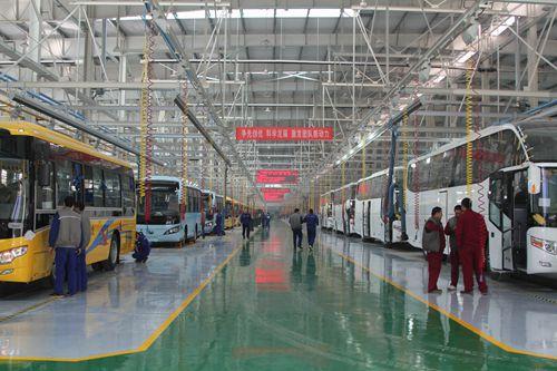 乌鲁木齐公交领域批量引进宇通客车