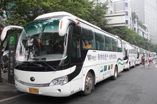 武隆景区携手宇通客车打造安全地心之旅
