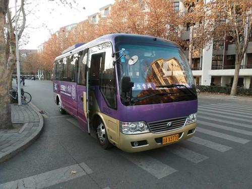 """开辟专线定制运营新模式 清华大学纯电动校园巴士有了""""新任务"""""""