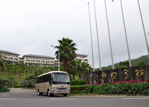 再赴新征程 澳门银河app官方下载客车连续两年服务博鳌亚洲论坛