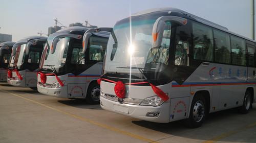 市场占有率再提升,宇通66辆公路车交付天津