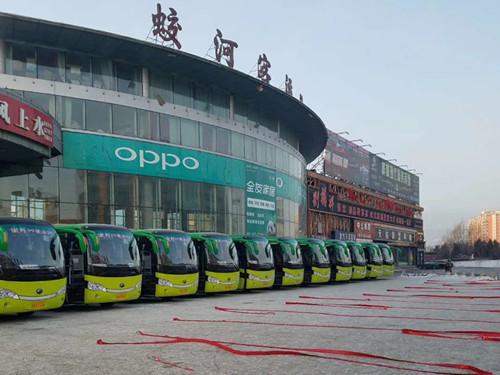 逆势增长,蛟河客运以宇通纯电动车激活传统客运