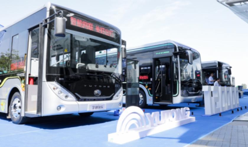 公交行业迎来变革!宇通定义高端公交标准,宇通造型DNA树立行业新标杆