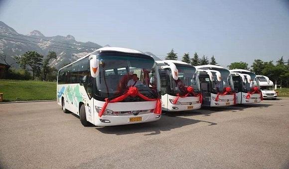 宇通客车助力华山客运打造舒适便捷的华山之路