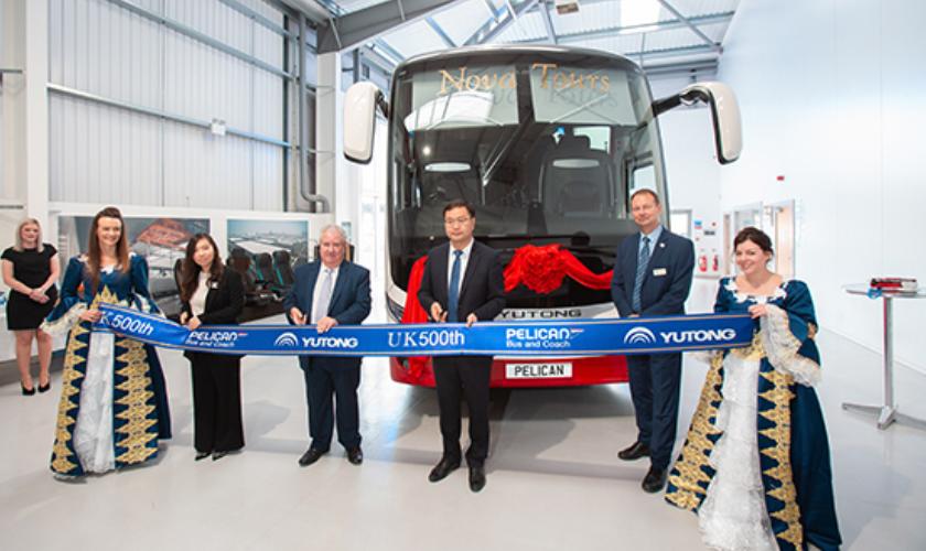 宇通客车出口英国已达500辆 将投运英国公交线