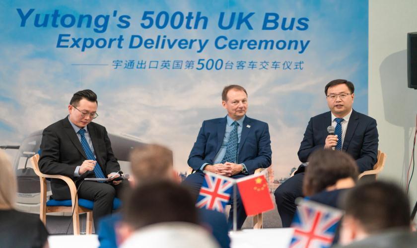 宇通客车加速海外市场拓展,出口英国达500辆