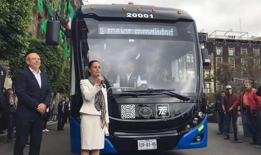 墨西哥媒体团到访宇通客车,点赞中国客车发展成就