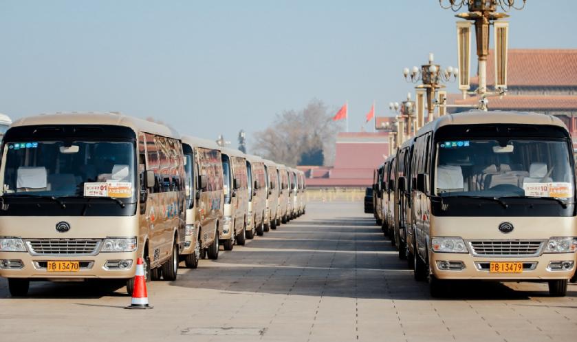 宇通T7 包揽两会中型高端公商务用车