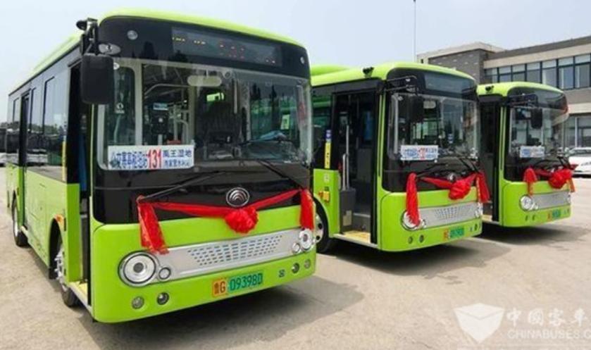 """潍坊城区新开通三条公交线 宇通打破高里街道""""零公交""""的历史"""