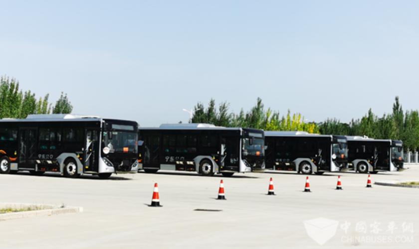 宁夏新能源汽车技术技能竞赛收官 比赛用车全部采用宇通