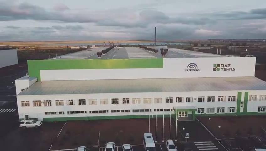 哈萨克斯坦总理见证CKD工厂开工 宇通技术输出成就合作典范