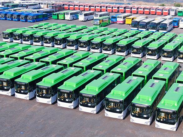 央视两次报道!760台宇通客车勇夺疫情后大中型客车出口第一大单!