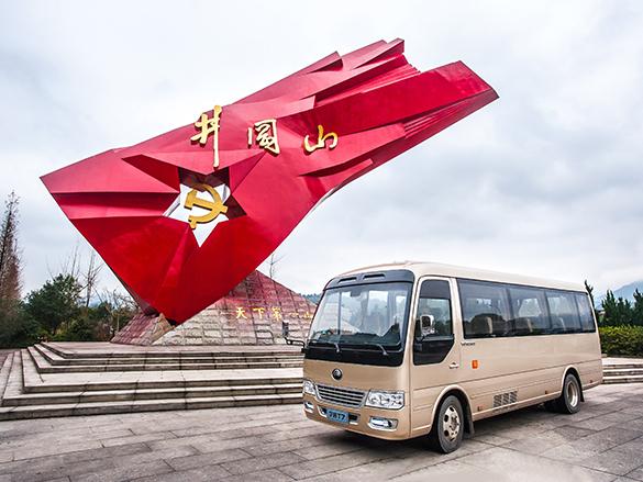 建党百年红色旅游升温,宇通带你追忆红色岁月!