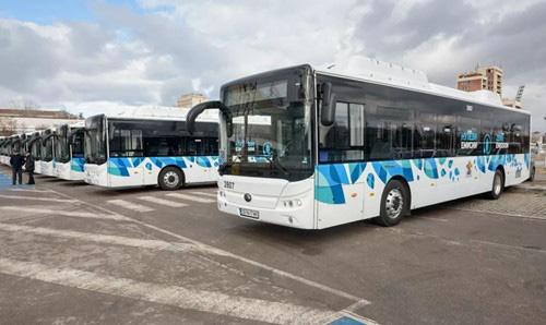 首批纯电动客车启用 宇通开启保加利亚绿色交通新时代