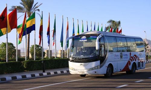 宇通客车走进非洲成为市场知名客车品牌