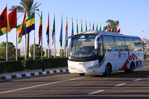 宇通客车走进非洲成为市场第一大客车品牌