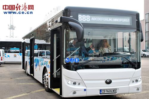 保加利亚迎首批中国产纯电动客车