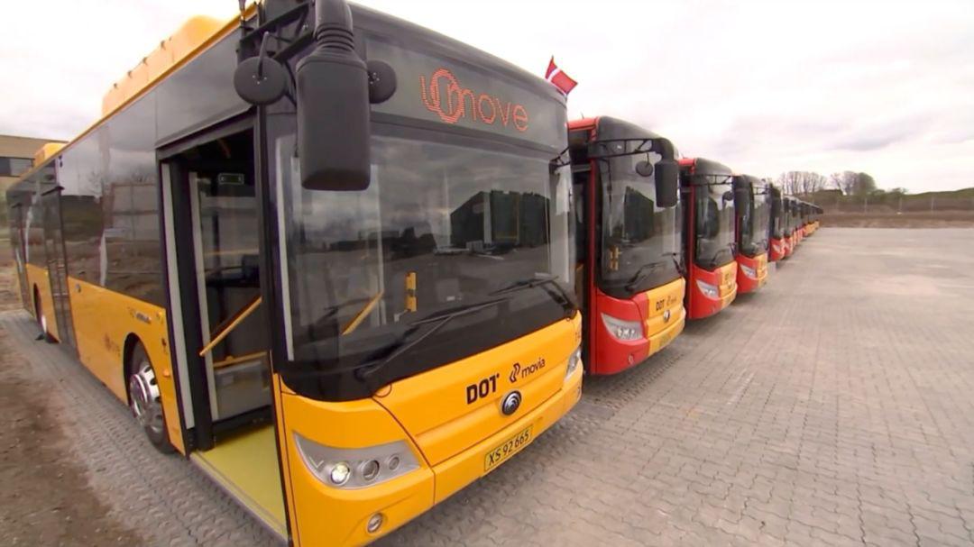 """宇通驶入""""童话王国"""",助力丹麦首条新能源公交线路启用"""