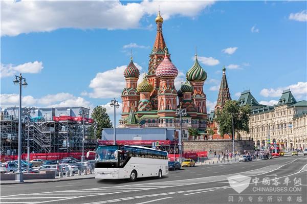"""168台客车交付乌兹别克斯坦 看宇通的""""一带一路""""版图"""