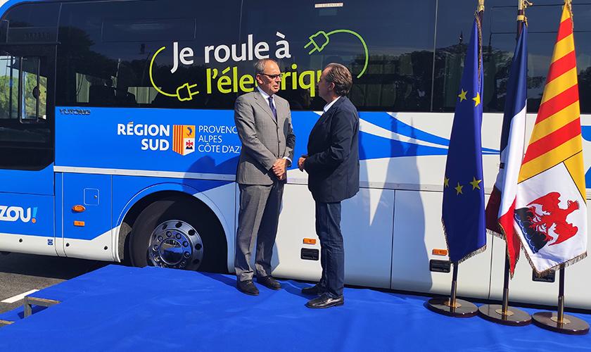欧洲首条纯电动城间线路启用, 宇通纯电动客车驶入法国普罗旺斯