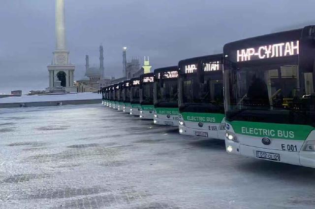 宇通100台纯电动客车出口哈萨克斯坦,助力极寒地区绿色出行