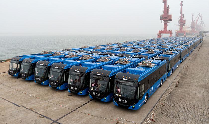 宇通再获墨西哥130辆双源无轨电车订单