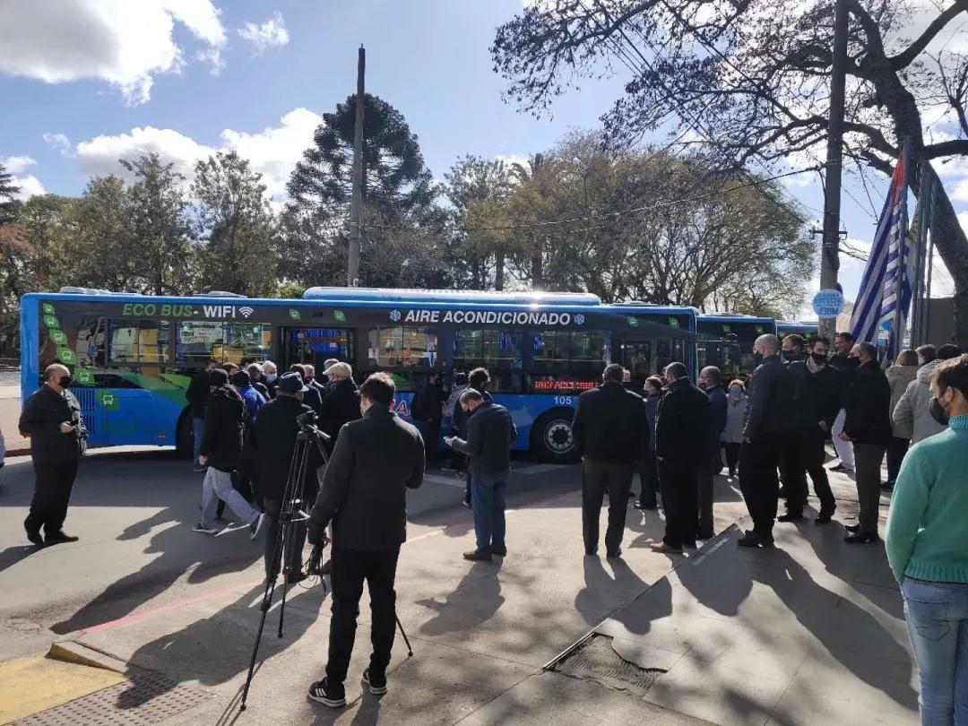 宇通车联网海外再下一城,美洲首个新能源车队管理系统交付