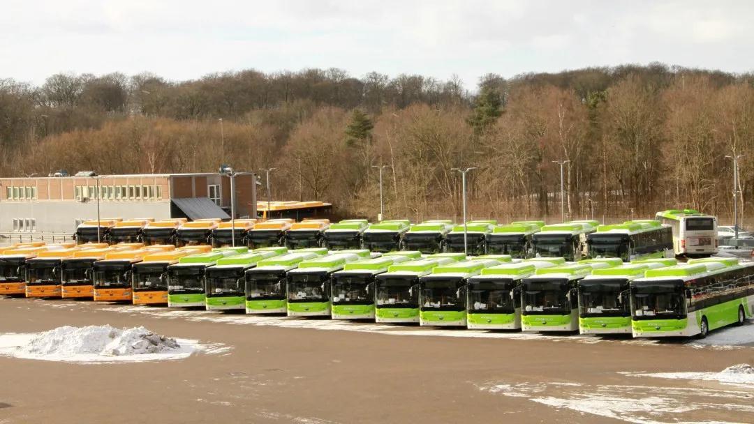 首开新局!55辆宇通E12出口丹麦,市场占比超60%!