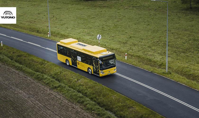 首批中国纯电动客车!宇通E10助力波兰低碳出行