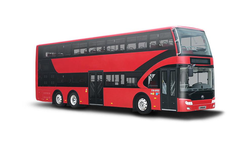 E12DD(双层纯电公交) E路美好 绿色出行