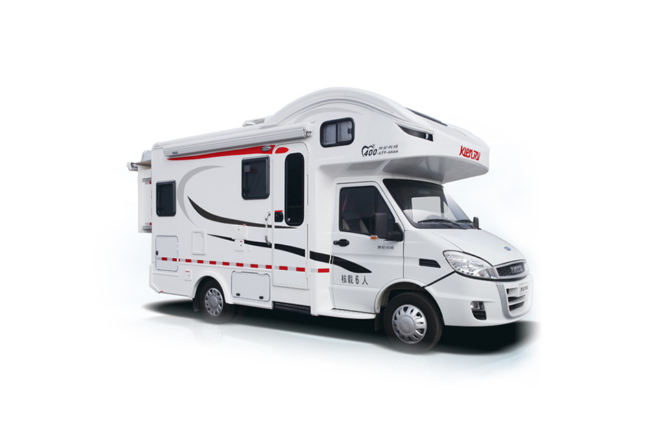宇通房车C533双拓展 ZK5043XLJ7国产依维柯双拓展房车,给您舒适的房车生活!