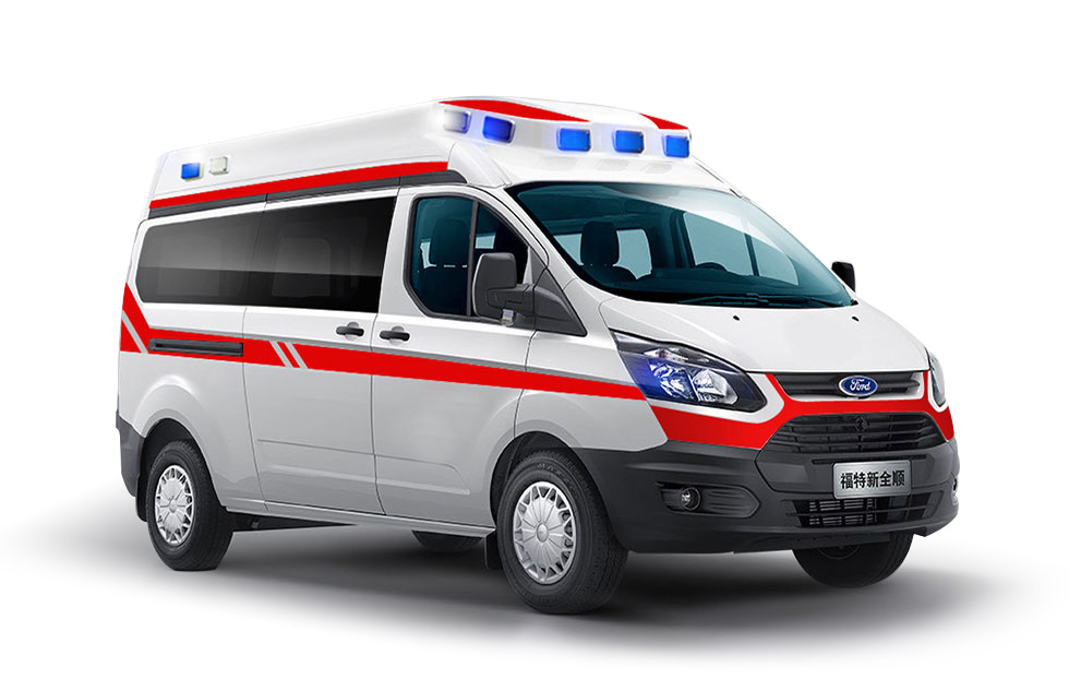 新全顺精英版监护救护车
