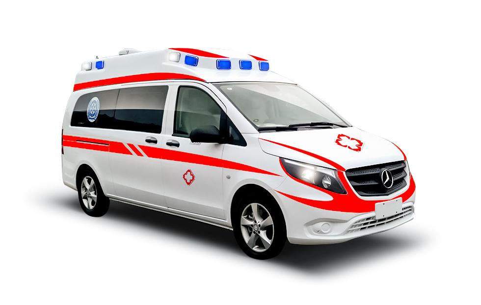 奔驰威霆精英版监护救护车