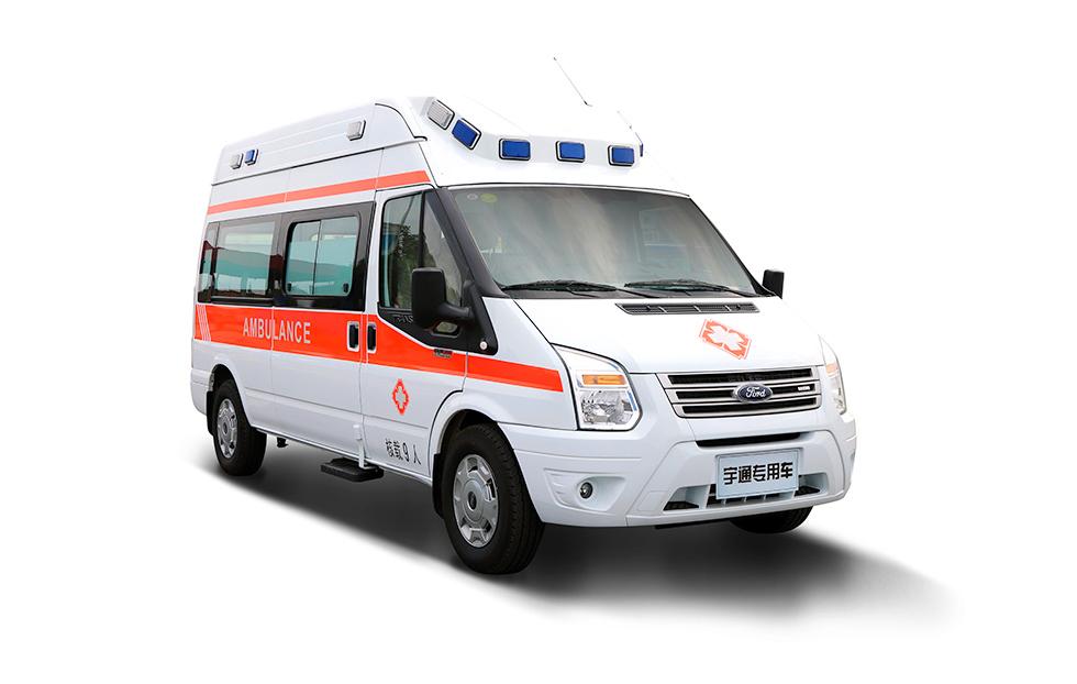 新世代全顺精英版监护救护车 K5041XJH5监护救护车